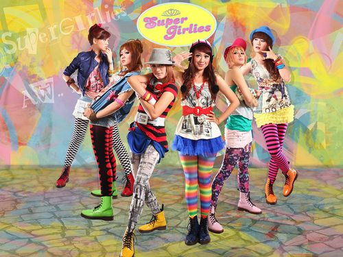 gambar SuperGirlies Hip Hip Hura image