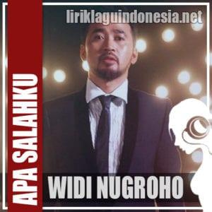 Lirik Lagu Widi Nugroho Apa Salahku (Tak Punya Hati)