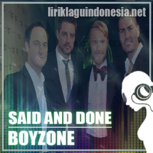 Lirik Lagu Boyzone Together